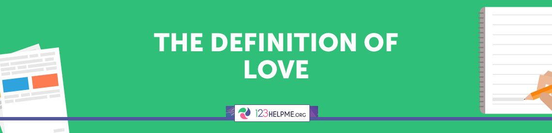 Definition essay of love