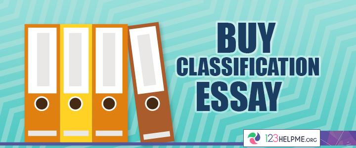 Buy Classification Essay