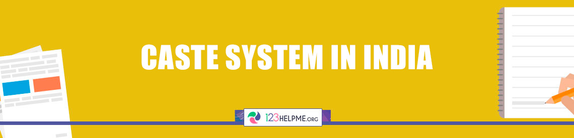 Caste System in India Sample Essay