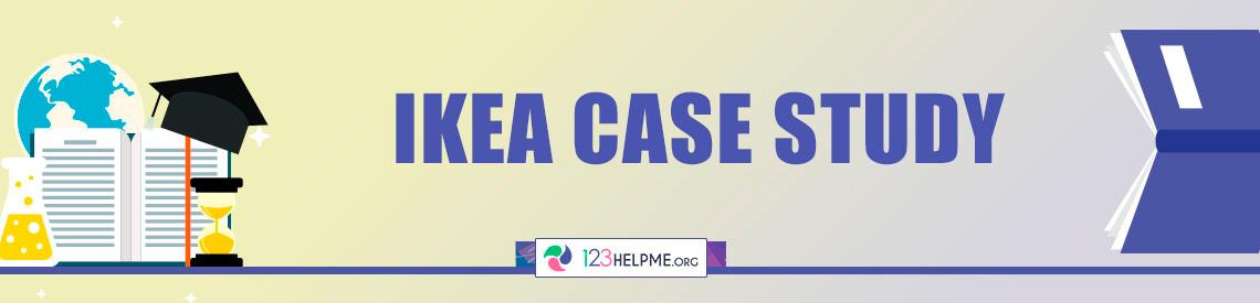 IKEA Case Study Sample