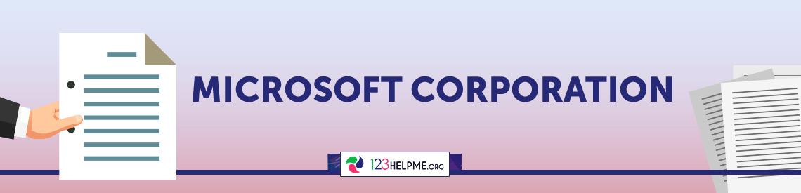Microsoft Corporation Capstone Project
