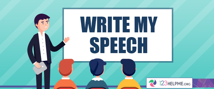 how to write a business speech