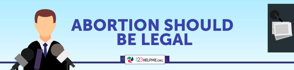induced abortion should not be legal Abortion activists once claimed that abortions need to be legal to protect women from dangerous back alley and self-induced abortions advertisement but it has become increasingly clear that abortion activists' service is to the altar of abortion, not women's safety or well-being.