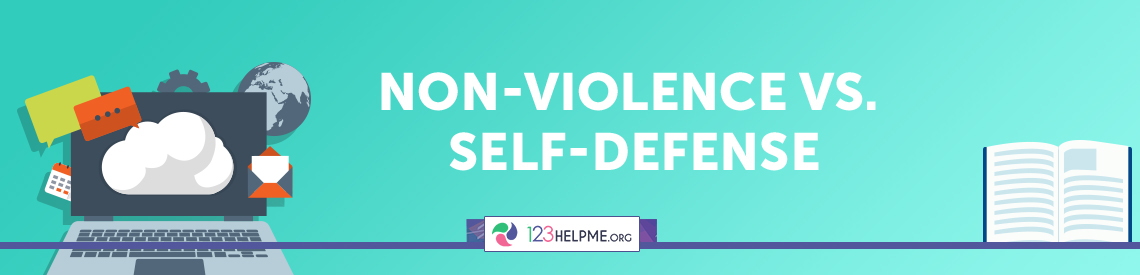 Non-Violence vs. Self-Defense Essay Sample