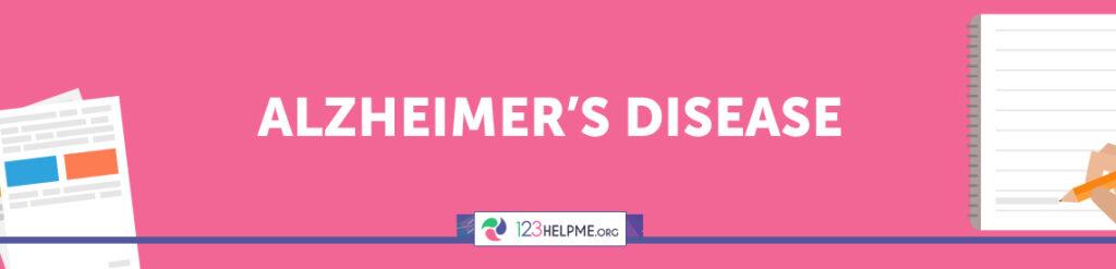 How to write an alzheimer disease essay
