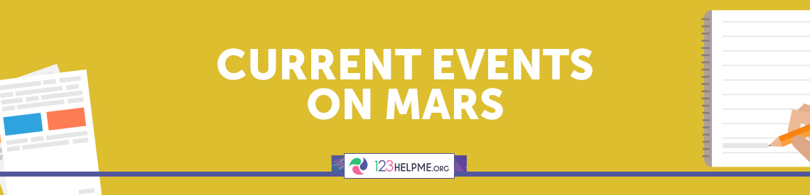 Current Events on Mars
