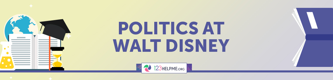 Politics at Walt Disney