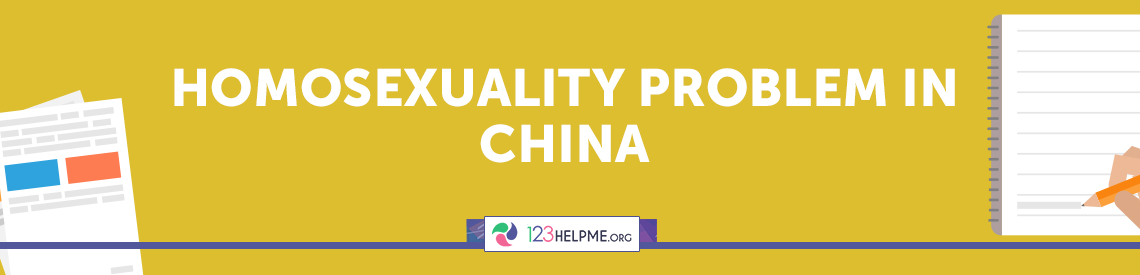 Homosexuality Problem in China