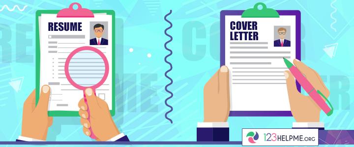 resume vs cover letter
