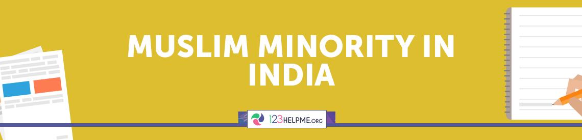 Muslim Minority in India