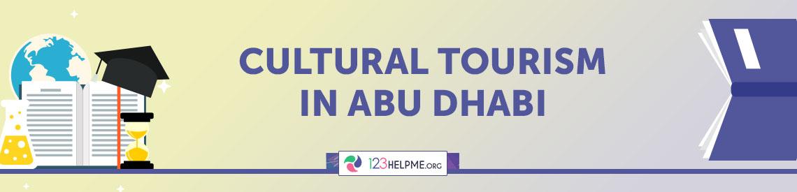 Cultural Tourism in Abu Dhabi