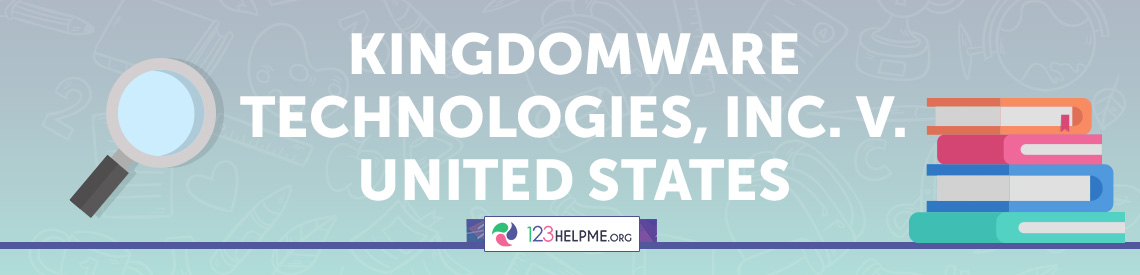 Kingdomware Technologies, Inc. v. United States